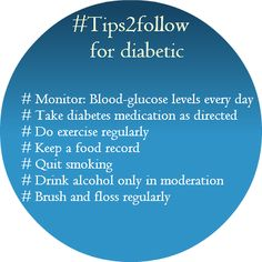 #Tips2follow for diabetic. RT & let inform to those who have #diabetes