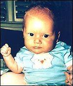 Garrett Michael Wilson murder victim of his father on August 22, 1987 at age 5 months.