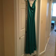 Spotted while shopping on Poshmark: Emerald Green evening gown! #poshmark #fashion #shopping #style #AGS #Dresses & Skirts