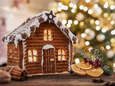 Most Popular Gingerbread House Candy 2019 Gingerbread House Candy, Gingerbread Decorations, Christmas Gingerbread, Christmas Cookies, Holiday Themes, Holiday Traditions, Christmas Themes, Christmas Lights, Christmas Fun