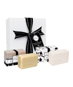 Look at this Beekman 1802 Assorted Goat's Milk Four-Piece Scrub Bar Set on #zulily today!