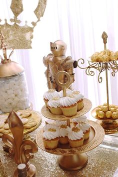 Prince Baby Shower Party Ideas | Photo 1 of 59