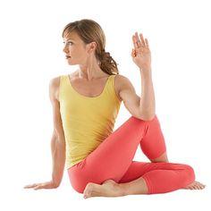 soulager le mal de dos avec une torsion assise