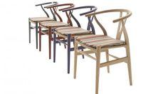 Wegner's Y chair in Paul Smith stripes