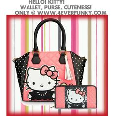 Hello Kitty Purse and Wallet Set 1e1f313331602