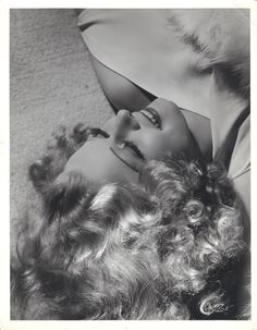 jeanharlowgoddess:  Jean Harlow portrait photographed by George Hurrell, 1936