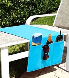 USA Pool and Toy Boca Chaise Organizer