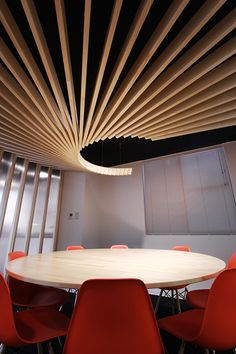 meeting room/ ceiling - what an incredible place for a meeting but not sure I could focus! #workdifferent