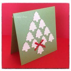 Christmas cards, CAS cards