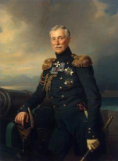 Kruger Franz - Portrait of Alexander Menschikov - JRX-31 | da Faces of Ancient Europe