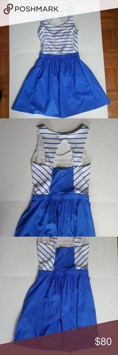 LULULEMON club dress blue dress New without tags Lulu size 4 lululemon athletica Dresses Midi