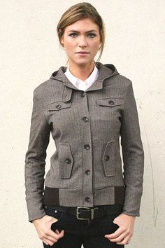 Librarian Herringbone Jacket