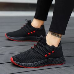 f9866b53d 2018 New Breathable Comfortable Casual Shoes For Male Fashion Men Lace-up  High Quality Wear-resistant Men Sneakers Footwears