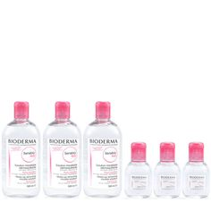 <p>For Black Friday Weekend, purchase a 500 ml bottle of Sensibio H2O and receive a 100 ml travel size bottle of Bioderma Sensibio H2O for free. This set is also available as a Duo or Trio. While Supplies Last.</p> <p>Bioderma Sensibio H2O (also known as Créaline H2O) is a no-rinse micellar cleanser and makeup remover specially formulated for sensitive, normal to dry skin types. It can even remove water-resistant face and eye makeup! A soothing emollient thanks to cucumber extract, it…