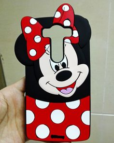 Case For LG G4 Stylus G Stylo Cute Cartoon Minnie Mouse Soft 3D Silicon Case Cover For LG G4 Stylus G Stylo LS770
