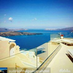 Welcome to Suites of the Gods Cave Spa hotel !! #santorini #santorinihotels www.bookingsantorini.com Santorini Hotels, Hotel Spa, Airplane View, Cave, Instagram Posts, Caves