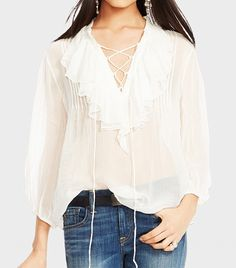 The Perfect White Blouse | Ralph Lauren
