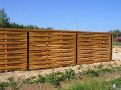 сделать декоративный забор из дерева