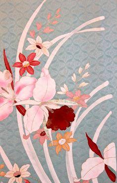 FREE SHIPPING  Japanese Vintage Silk Kimono by Orientalvintage88, £16.89