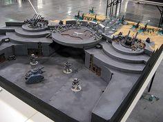 40K Air Base by matt staley. great design! #Warhammer #Warhammer40K #MattStaley