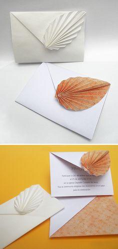 origami - sobres plegados en papel