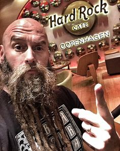 """""""Another day. Another city. Another #HardRock. @hrccopenhagen #LiveALifeYoullRemember #ShitYesSon #PositivelyAffectingLives"""""""