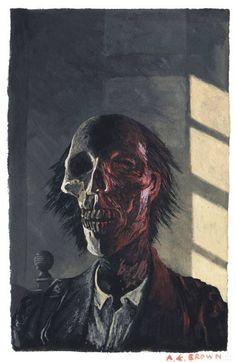 Alan Brown illustration inspired by M. Ghost Stories, Horror Stories, Dream Song, The Uncanny, Comedy Films, Film Books, Cthulhu, Horror Art, Light Art