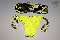 Bikini giallo fluo
