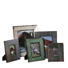 Set of 5 Wooden Picture Frames