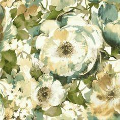 Watercolor Poppy | Wallpaper Warehouse