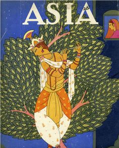 By Frank McIntosh. He is famous for his glorious art deco covers for Asia Magazine, which was popular from the 1920s to the 1940s.