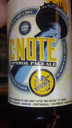 Update - Found it! Loved it!   I have a friend named C-Notes. I need to find this beer for him!