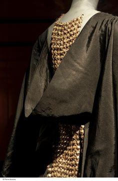 1937 - Lanvin. Silk, ??? Detail.
