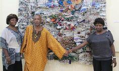 "Malabo - Exposition de Pocho Guimaraes : ""Modulations, hier et aujourd'hui""<br /> Kimono Top, Tops, Women, Fashion, Radiation Exposure, Moda, Women's, La Mode, Shell Tops"