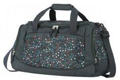 !!!Travelite Reisetasche Argon Pünktchen grau bunt Nylons, Laptop Rucksack, Bunt, Gym Bag, Fashion, Duffle Bags, Travel Bags, Grey, Traveling