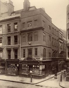 1870's photo of Cheapside, London