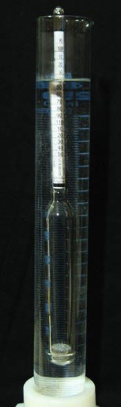 "You know there is sugar in non-diet soda, but just how much? In the ""How Sweet It Is—How Much Sugar Is Really in That Soda?"" food #science project, students use a hydrometer to measure the amount of sugar in soda. [Source: Science Buddies, http://www.sciencebuddies.org/science-fair-projects/project_ideas/FoodSci_p056.shtml?from=Pinterest] #STEM #scienceproject"