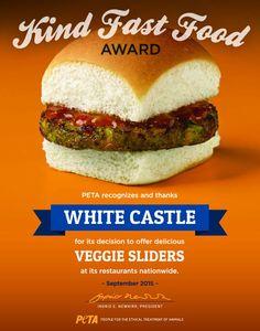 White Castle Now Offers Veggie Sliders That Are Vegan