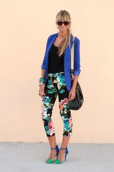OMG. one of my favvvvorite outfits!! those heels, those pants, that jacket, the hair, the bag.... aAHHHH