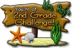 Mrs. Ray's 2nd Grade Challenge! A list of 100 challenges in 4 subject areas for kids to complete.