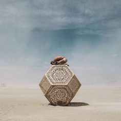 Burning Man Becomes A Hot Spot For Tech Titans Burning Man - Fantastic photos of burning man counter culture event taking place in the desert