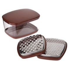 KitchenAid Cup Grater with Container and Lid $14 Basically I need to find a prettier version of this but what a genius product!!!