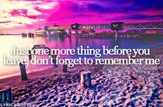 Don't Forget To Remember Me - Carrie Underwood