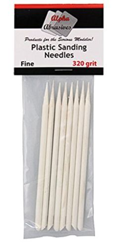 Alpha Abrasives 150 Plastic Sanding Needles 320 grit Fine #0403 -- Awesome products selected by Anna Churchill