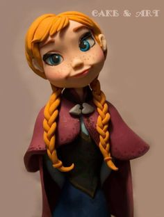 *SORRY, no information as to product used ~ Anna Frozen
