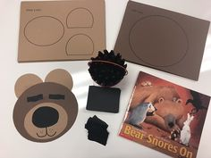 bears Bear Snores On lends itself perfectly to themes about hibernation, bears, and seasons. Continue reading to discover learning activities and crafts your students will love Bear Crafts Preschool, Preschool Themes, Kindergarten Activities, Preschool Activities, Preschool Winter, Kids Crafts, Animals That Hibernate, Preschool Lesson Plans, Hibernating Animals
