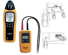#Localizzatore di #cavi Art. Arw-1012 il #cercafase Arw LC-12 è uno strumento di misura #portatile che può essere impiegato per la ricerca di tubi e cavi ed identificazione del percorso del tubo e linea elettrica. Il cercafase Arw LC-12 è composto dalla trasmittente e un ricevitore.