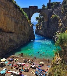 At the Amalfi Coast in Italy.