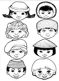 Disney Princess Coloring Pages, Disney Princess Colors, Formation Montessori, Around The World Theme, Preschool Colors, World Thinking Day, Poster Drawing, Christian Crafts, World Crafts