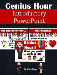Genius Hour: PowerPoint